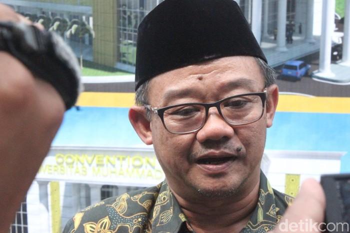 Sekjen PP Muhammadiyah, Abdul Muti di Kudus, Minggu (26/5/2019).