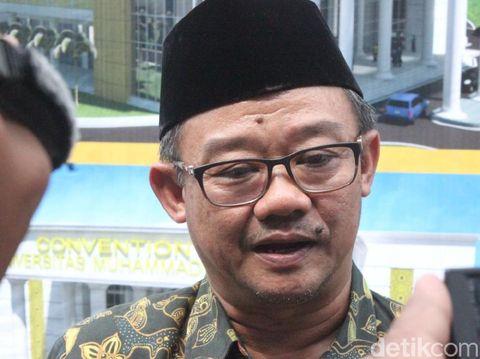Sekjen PP Muhammadiyah, Abdul Mu'ti di Kudus, Minggu (26/5/2019).