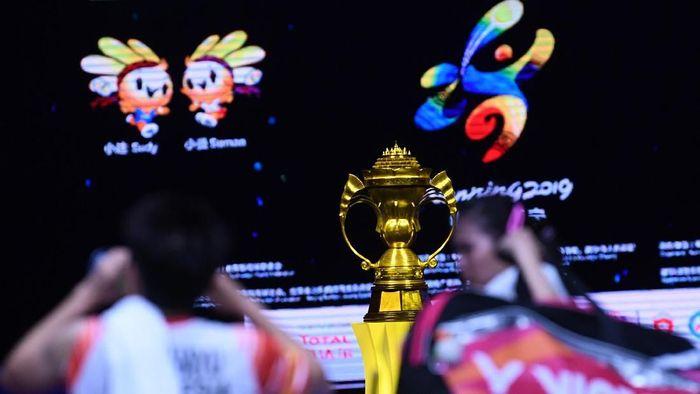 Indonesia gagal ke final Piala Sudirman 2019 setelah Greysia/Apriyani kalah di partai keempat lawan Jepang. (Foto: Wahyu Putro A/ANTARA Foto)