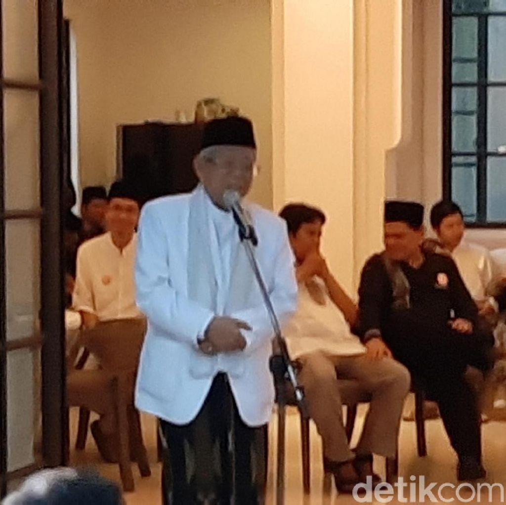 Maruf Amin Buka Puasa di Rumah Eks Ketum PAN