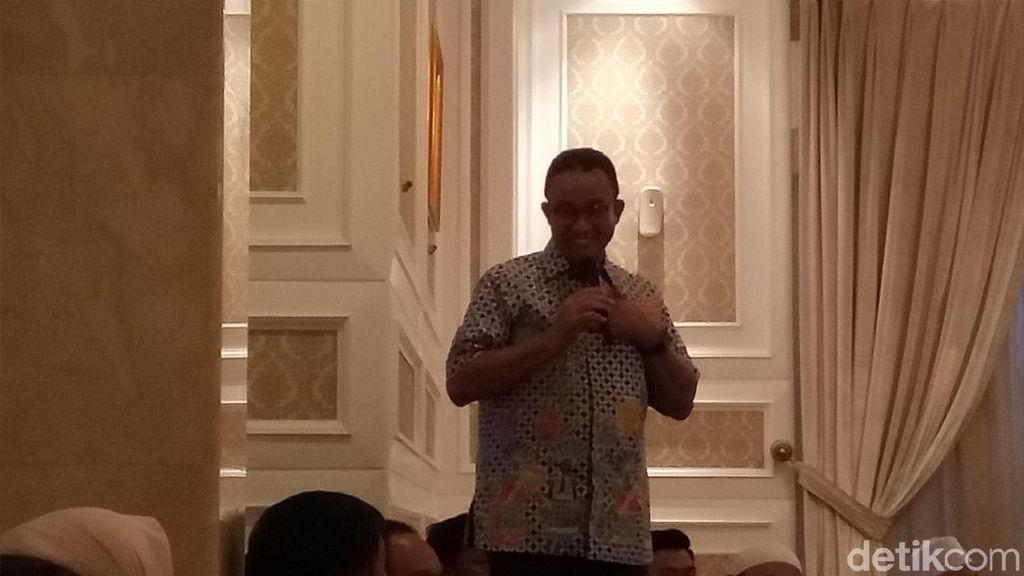 Anies Bicara soal Media Asing dan Framing Gubernur Intoleran