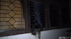 Tawuran Mahasiswa Pecah di Makassar, Ruang Kelas Dibakar