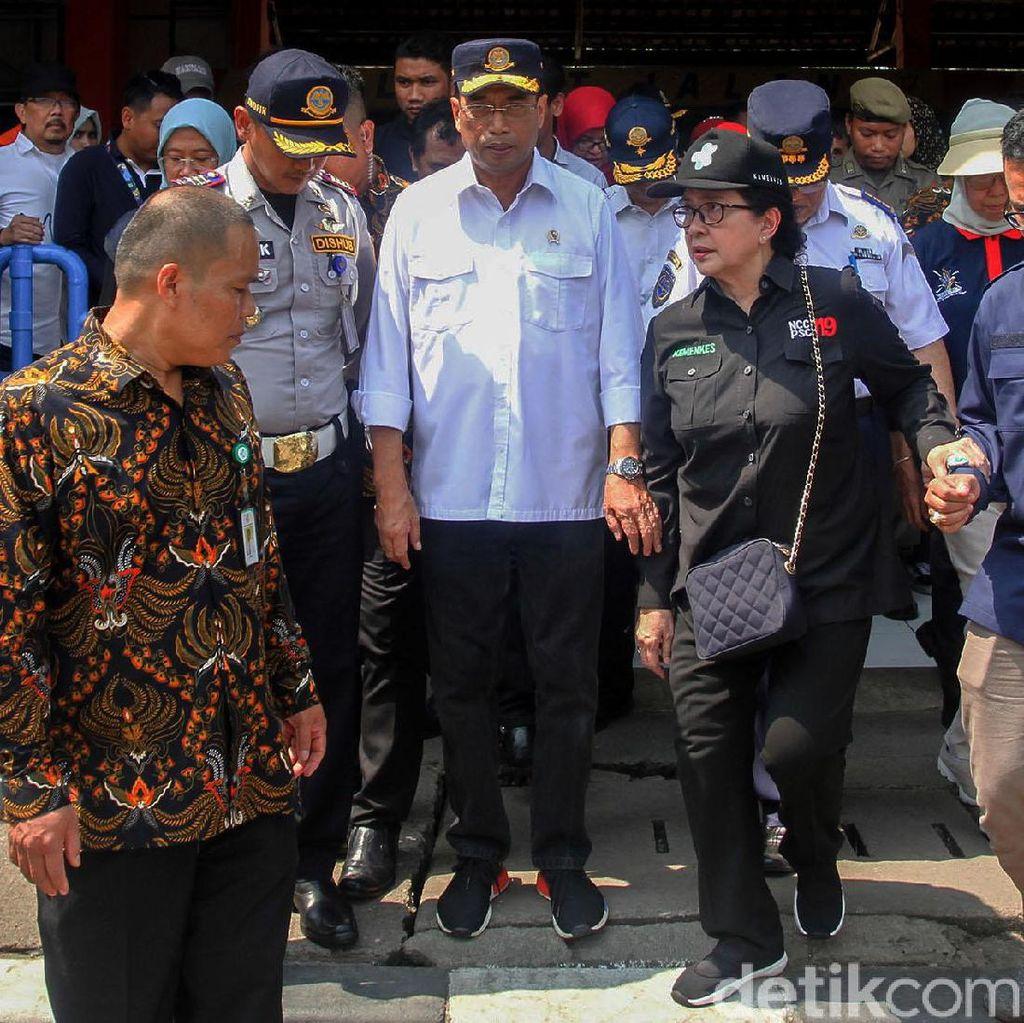 Menhub Budi Karya Cek Kesiapan Mudik di Terminal Kampung Rambutan