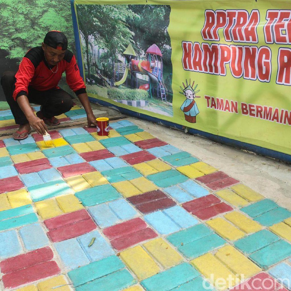 Asyik Terminal Kampung Rambutan Punya RPTRA