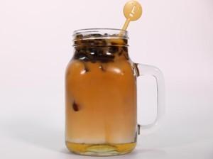 Minum Thai Jelly Tea Kekinian untuk Berbuka