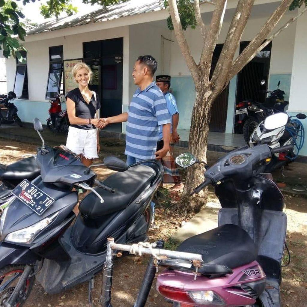 Polisi Tangkap Satpam yang Curi Motor WN Amerika di NTB