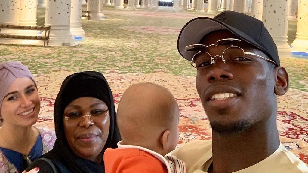 Datangi Masjid di Abu Dhabi, Paul Pogba: Masya Allah