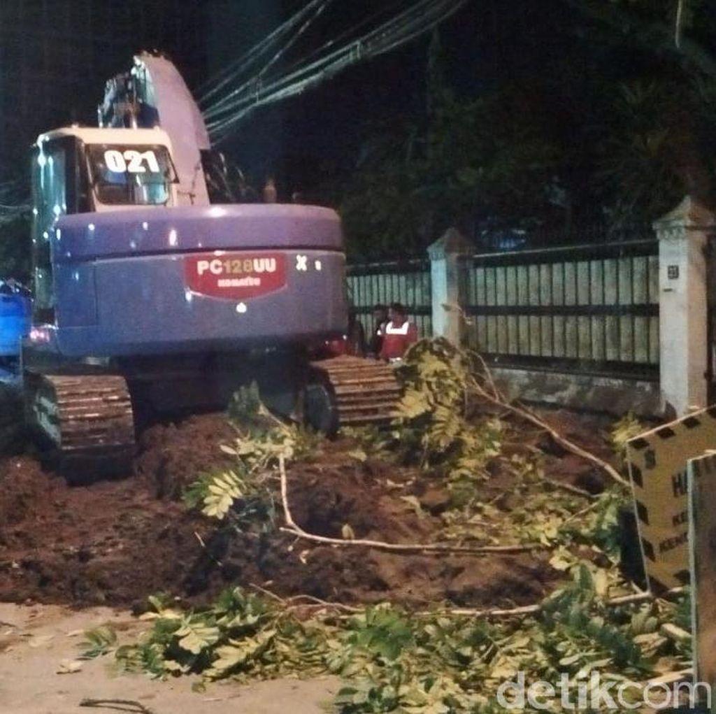 Pekerja Proyek Box Culvert di Surabaya Tewas Tertimbun Reruntuhan