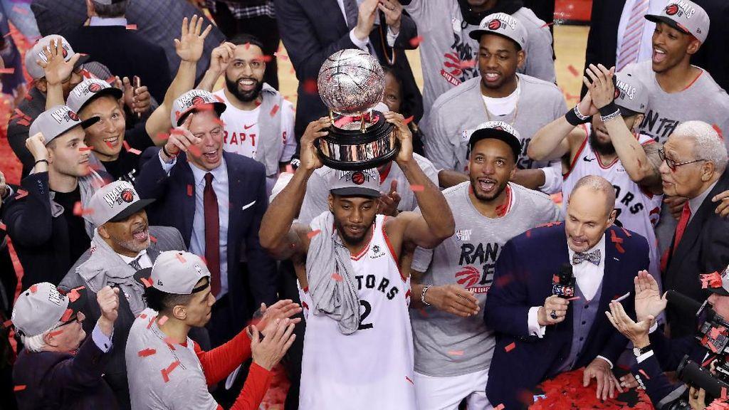Kalahkan Bucks, Raptors Juara Wilayah Timur dan Maju ke Final NBA