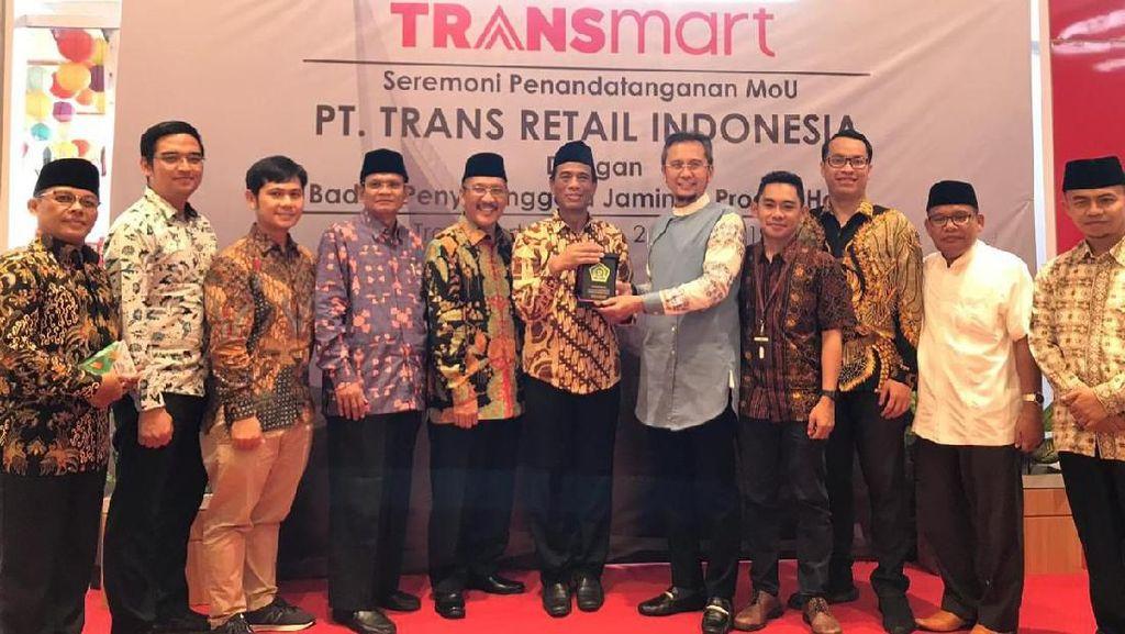 Sah! Transmart Carrefour Dapat Sertifikasi Halal