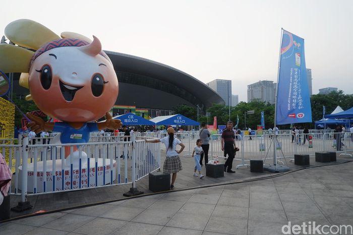 Piala Sudirman 2019 digelar di Guangxi Sports Center Gymnasium, di Nanning, China.