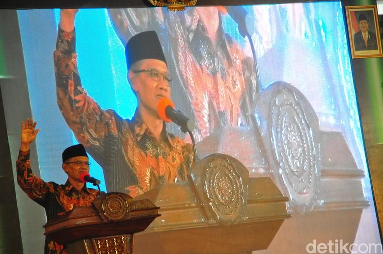 Usai MK Tolak Gugatan Prabowo, Ketum Muhammadiyah Serukan Rekonsiliasi