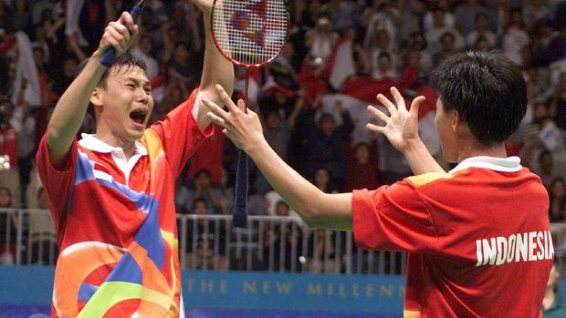 Candra Wijaya/Tony Gunawan berhasil jadi juara Olimpiade Sydney 2000.