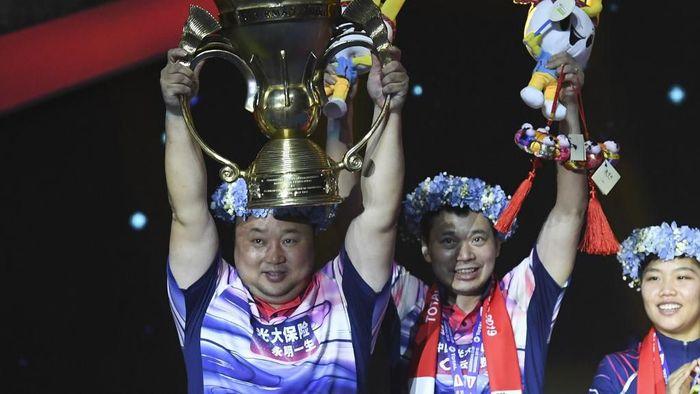China juara Piala Sudirman 2019. (Wang Zhao/AFP)