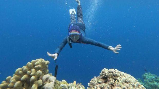 Free Dive di Bunaken