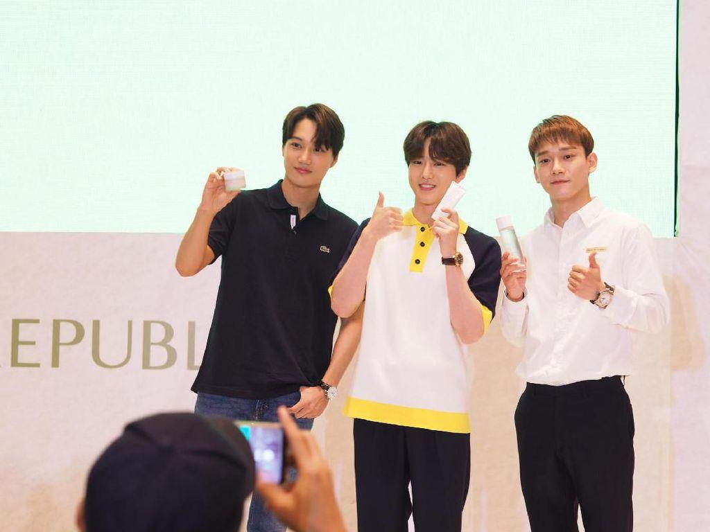 EXO Janji Kembali ke Jakarta dengan Full Team