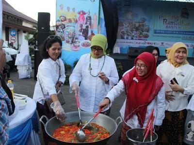Seru! Ada Lomba Kuliner dan Fashion Show di Pesona Ramadhan Banten