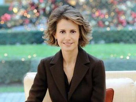 Ibu Negara Suriah yang Kontroversial Sembuh dari Kanker Payudara