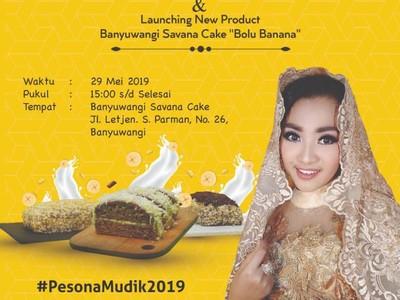 Pedangdut Fitri Carlina Siap Launching Bolu Banana
