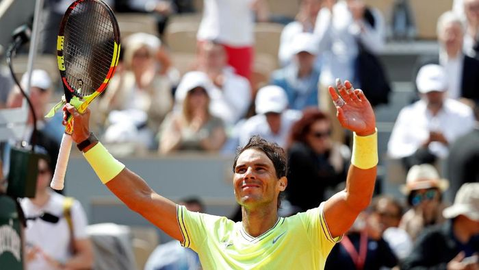 Petenis Spanyol, Rafael Nadal. (Foto: Vincent Kessler / Reuters)