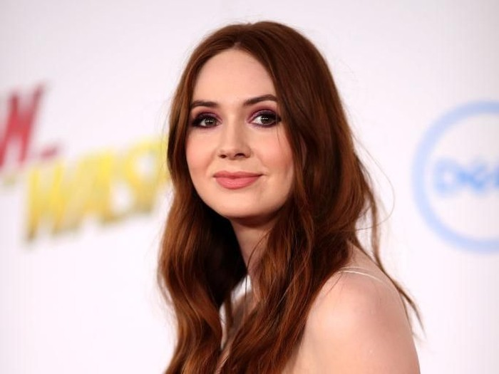 HOLLYWOOD, CA - DECEMBER 11:  Karen Gillan attends the premiere of Columbia Pictures Jumanji: Welcome To The Jungle on December 11, 2017 in Hollywood, California.  (Photo by Christopher Polk/Getty Images)