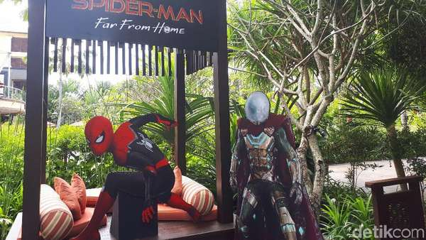 Jumpa Bintang Spider-Man, MIB dan Angry Bird, Ada Tom Holland!