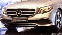 Ilustrasi Mercedes-Benz E200