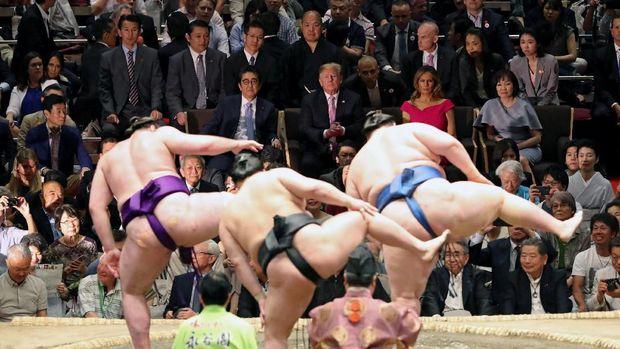 AS-Jepang Teken Kesepakatan Perdagangan, Tapi...