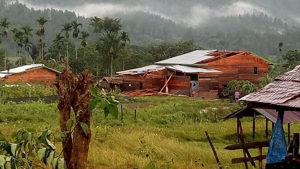 8 Rumah di Aceh Hancur Diterjang Puting Beliung