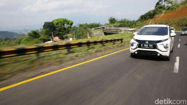 Ekspedisi Xpander 2.000 KM Jawa pada hari terakhir  melanjutkan perjalannya dari Tasikmalaya menuju Jakarta, Minggu (26/5/2019).