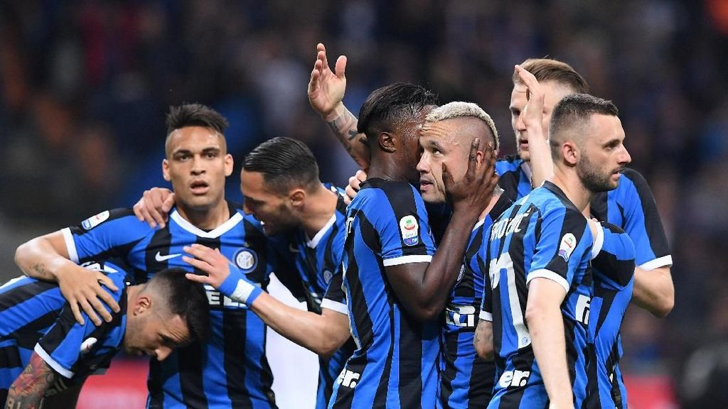 Kalahkan Empoli, Inter Milan Lolos ke Liga Champions