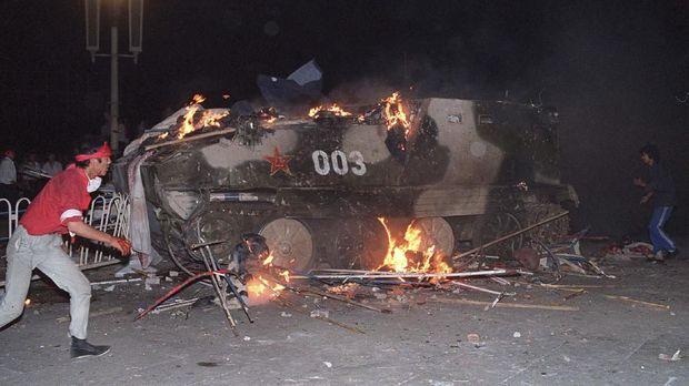 Kisruh Tiananmen terjadi 30 tahun lalu.