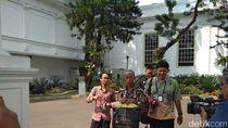 Bertemu Jokowi, Usma Pedagang Korban Rusuh 22 Mei Diberi Uang dan Baju