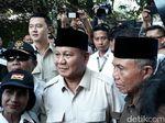 Reaksi Prabowo Diteriaki Presiden Saat Ziarah di Makam Pak Harto