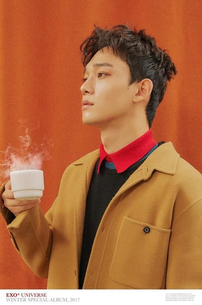 Memiliki nama asli Kim Jong-dae, penyanyi sekaligus member boyband EXO asal Korea Selatan ini lebih akrab dengan panggilan Chen. Dalam beberapa kesempatan, Chen sering memasang pose imut dengan makanan. Foto: Istimewa