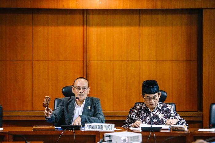 Ketua Komite IV Ajiep Padindang/ Foto: Dok DPD