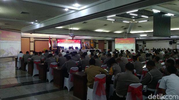 Rakor Linsek Operasi Ketupat Candi 2019, Semarang.