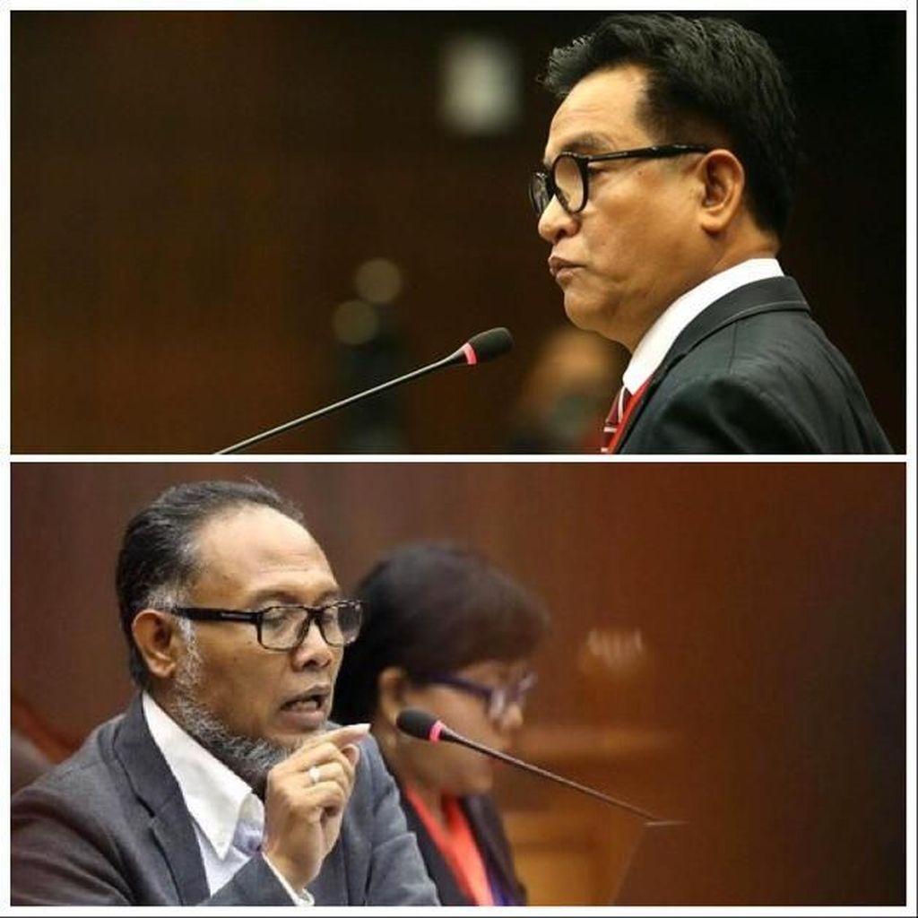 Rekam Jejak BW vs Yusril yang Bertarung di Sengketa Pilpres 2019