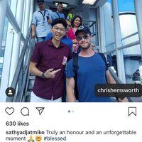 Foto Bareng Spider-Man & Thor di Bali, Remaja Ini Jadi Viral