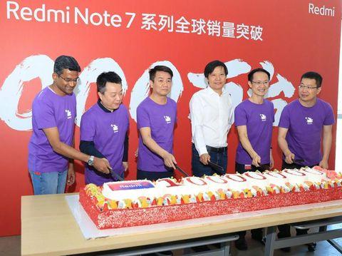 10 Juta Unit Redmi Note 7 Terjual di Seluruh Dunia