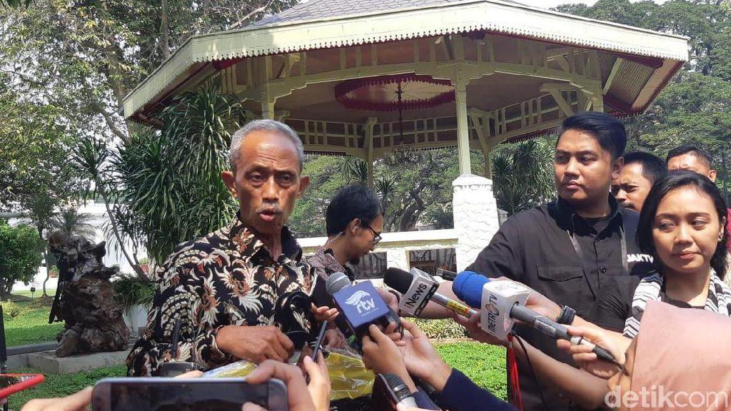 Temui Jokowi, Pedagang di Sabang Korban Demo 22 Mei Dapat Hadiah