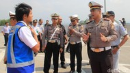 Satlantas Polres Malang Pantau Kesiapan Mudik di Tol Pandaan-Malang