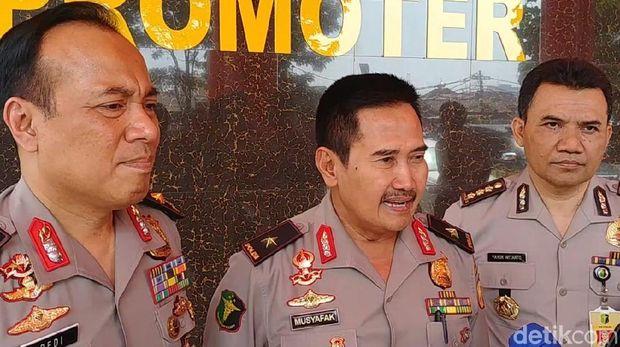 Kepala Rumah Sakit Polri Kramat Jati Brigjen Musyafak /