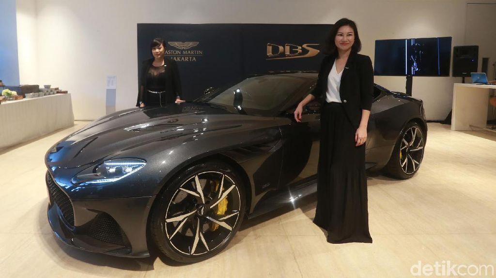 Aston Martin DBS Superleggera Tampil Seksi di Indonesia