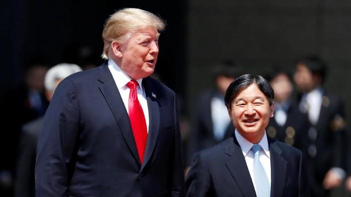 Donald Trump bertemu Kaisar Naruhito (REUTERS/Issei Kato)