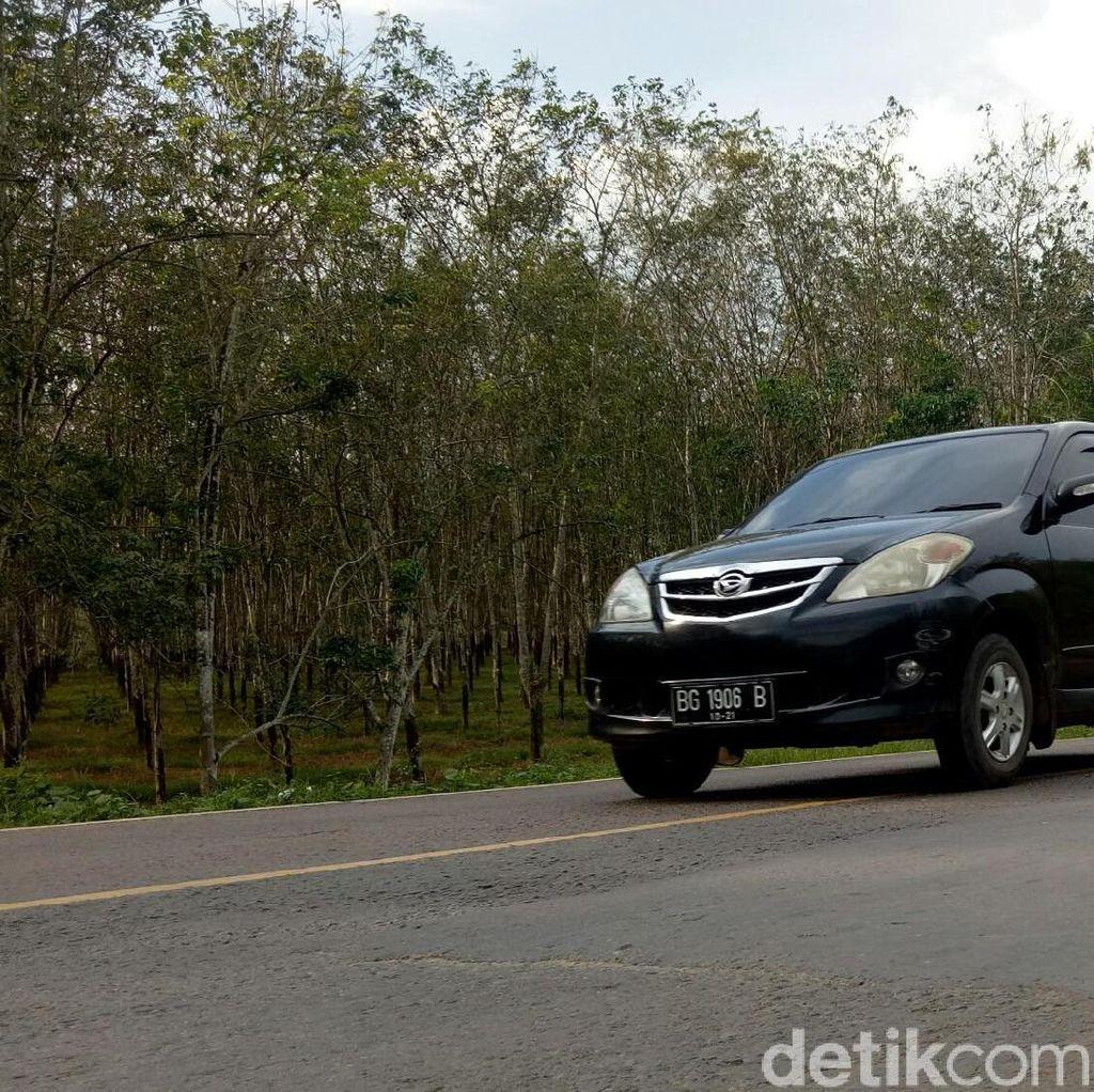 Jalan Lintas Timur Palembang-Betung Siap Dilalui Pemudik