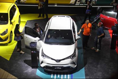 Ilustrasi mobil baru di pameran IIMS 2019