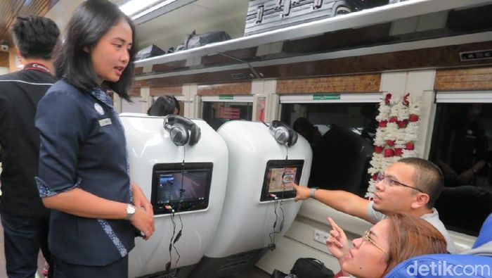 Foto: Sleeper Train (Puti Aini Yasmin/detikFinance)