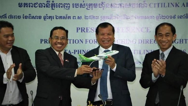 Penerbangan Langsung Indonesia-Kamboja, Impian Menjadi Kenyataan