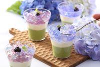 Cantiknya Bunga Hydrangea Jadi Tren Dessert Musiman di Jepang